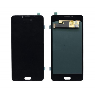 Lcd With Touch Screen For Samsung Galaxy C9 Pro Black By - Maxbhi Com