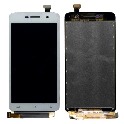 Lcd With Touch Screen For Vivo Y21l Grey By - Maxbhi Com
