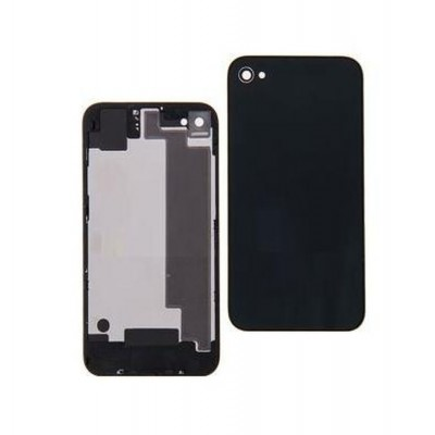 Full Body Housing For Apple Iphone 4 Black - Maxbhi.com