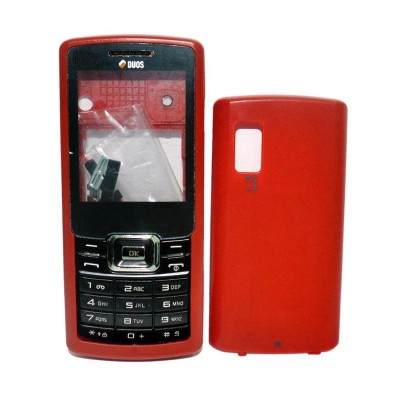 Full Body Housing For Samsung C5212 Fizz Red - Maxbhi.com