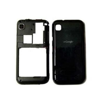 Full Body Housing For Samsung I9000 Galaxy S Black - Maxbhi Com