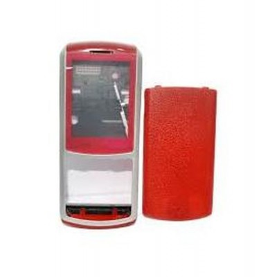 Full Body Housing For Samsung S3310 Red - Maxbhi.com