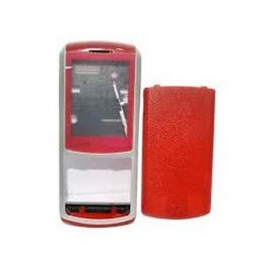 Full Body Housing For Samsung S3310 Red - Maxbhi.com