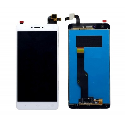 Lcd With Touch Screen For Xiaomi Redmi Note 4white By - Maxbhi Com