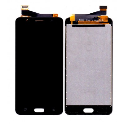 Lcd With Touch Screen For Samsung Galaxy J7 Max Black By - Maxbhi Com
