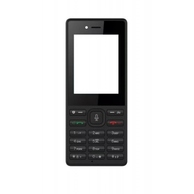 Full Body Housing For Reliance Jiophone Black - Maxbhi.com