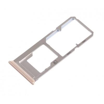 Sim Card Holder Tray For Vivo Y53 Gold - Maxbhi Com