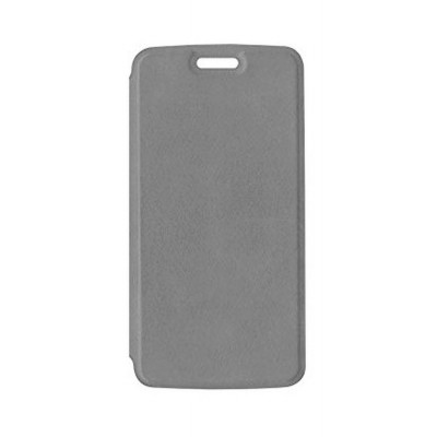 8cbe258cd0e Flip Cover for Moto E4 Plus 32GB - Grey by Maxbhi.com