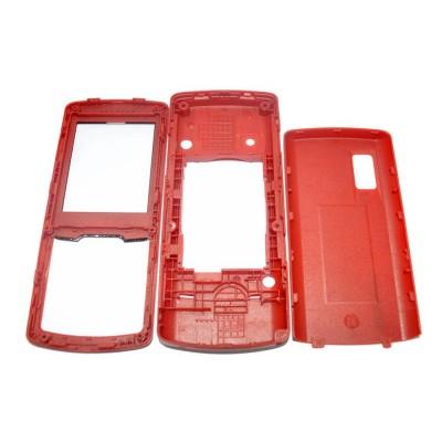 Full Body Housing for Samsung C5212 Fizz - Red