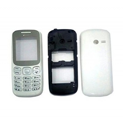 Full Body Housing for Samsung Metro B313 - White
