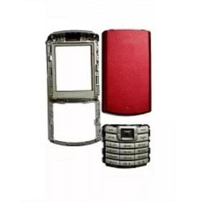 Full Body Housing for Samsung S3310 - Red