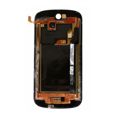 LCD with Touch Screen for Yota YotaPhone 2 - Black (complete assembly folder)