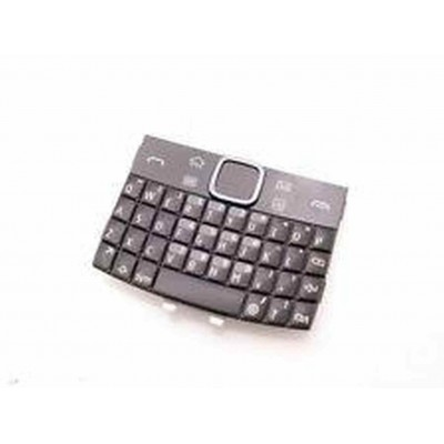 Keypad For Nokia E6  Dark Gray and Black