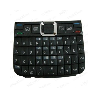 Keypad For Nokia E63  Black