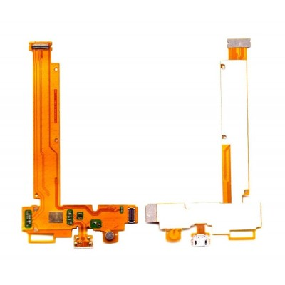 Charging Connector Flex Cable For Vivo Y21 By - Maxbhi Com