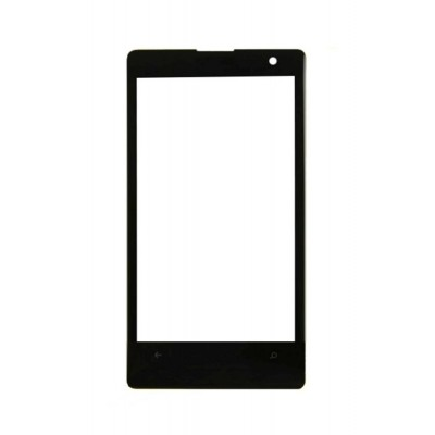 Replacement Front Glass For Nokia Lumia 1020 Black By - Maxbhi.com