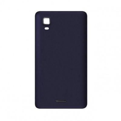 Back Panel Cover For Micromax A102 Canvas Doodle 3 Blue - Maxbhi.com