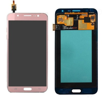 Lcd With Touch Screen For Samsung Galaxy J7 2016 Rose Gold By - Maxbhi Com