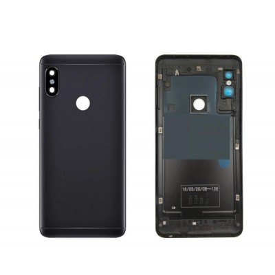 Full Body Housing For Xiaomi Redmi Note 5 Pro Black - Maxbhi Com