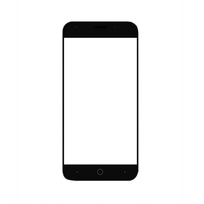 Replacement Front Glass For Smartron T.phone P Black By - Maxbhi.com