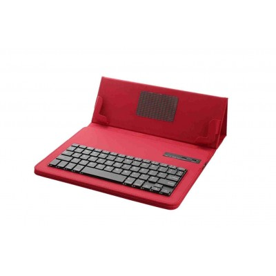 Bluetooth Keyboard For Universal 10inch Tablets With Leather Case