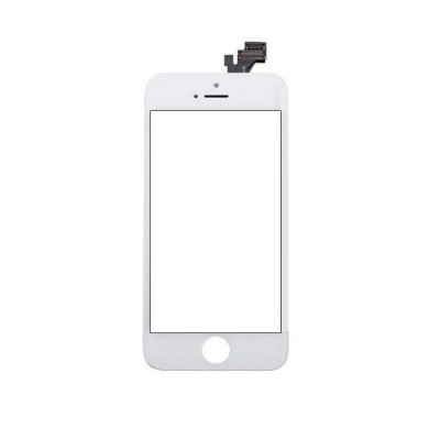 Touch Screen Digitizer For Apple Iphone 5 White Silver By - Maxbhi Com