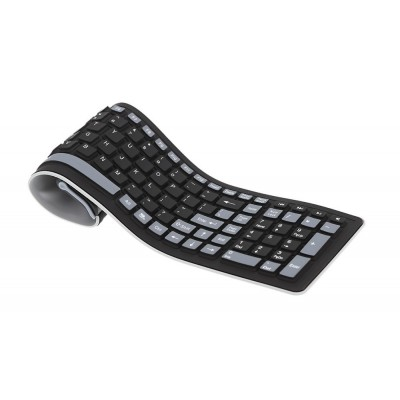 Wireless Bluetooth Keyboard for Samsung P1000 Galaxy Tab by Maxbhi.com