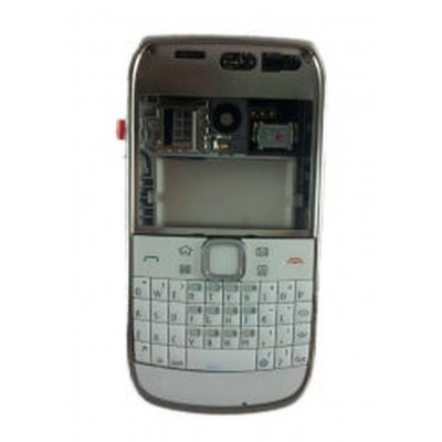 Full Body Housing For Nokia E6 E600 White - Maxbhi Com