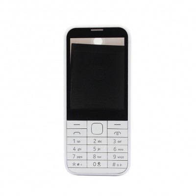 Full Body Housing For Nokia 225 Dual Sim White - Maxbhi Com