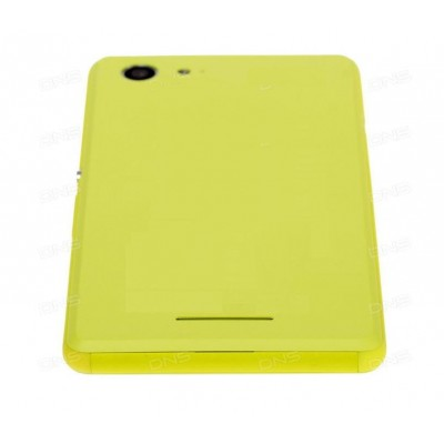 Full Body Housing For Sony Xperia E3 Dual D2212 Yellow - Maxbhi Com