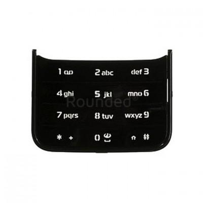 Keypad For Nokia N81 Silver Black - Maxbhi Com