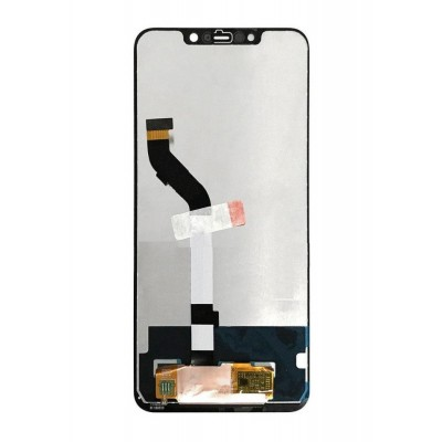 Lcd With Touch Screen For Xiaomi Pocophone F1 Black By - Maxbhi Com