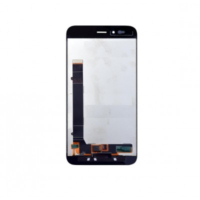 Lcd With Touch Screen For Xiaomi Mi A1 Black By - Maxbhi Com