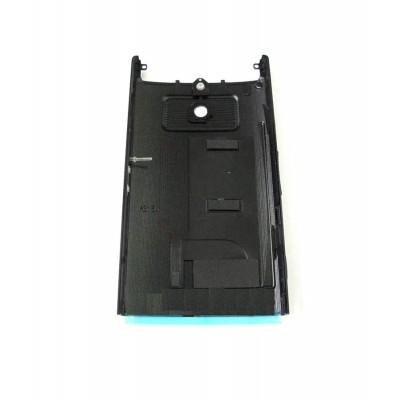 Back Panel Cover For Sony Xperia P Lt22i Nypon Black - Maxbhi Com