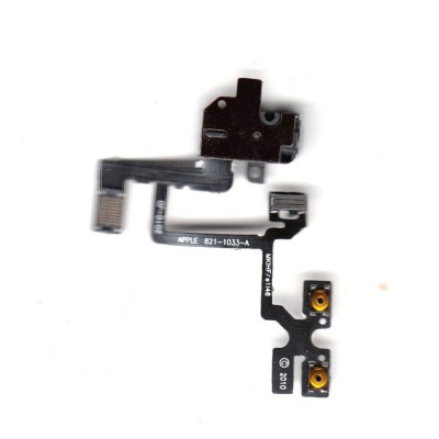 Handsfree Jack Flex Cable For Iphone 4 4g Audio - Maxbhi Com