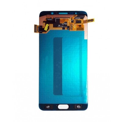 Lcd With Touch Screen For Samsung Galaxy Note 5 Black By - Maxbhi Com