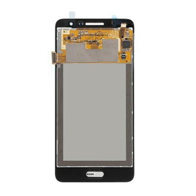 Lcd With Touch Screen For Samsung Galaxy Grand Prime Smg530h Black By - Maxbhi Com