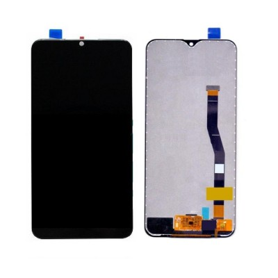 Lcd With Touch Screen For Samsung Galaxy M20 Black By - Maxbhi Com