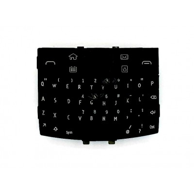 Keypad For Nokia E6 Dark Gray And Black - Maxbhi Com