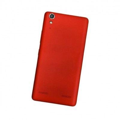 Full Body Housing For Lenovo A6000 Plus Red - Maxbhi Com