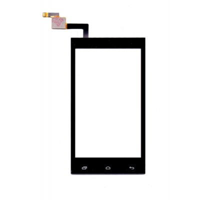 Touch Screen Digitizer For Intex Aqua 3g Pro Black By - Maxbhi Com