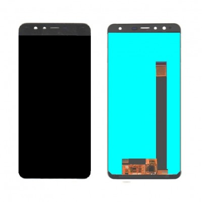 Lcd With Touch Screen For Mobiistar X1 Dualwhite By - Maxbhi Com