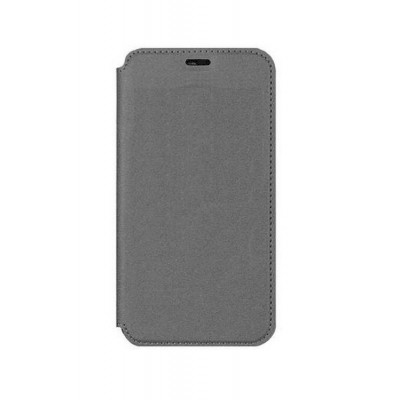 Flip Cover For Micromax Canvas 5 Grey By - Maxbhi Com