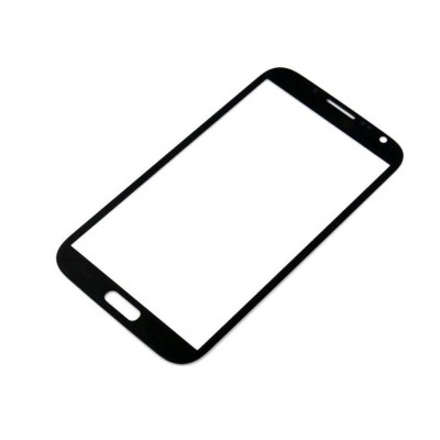 Glass For Samsung Note 2 N7100 Black - Maxbhi Com