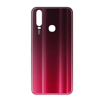 Back Panel Cover For Vivo Y15 2019 Red - Maxbhi Com