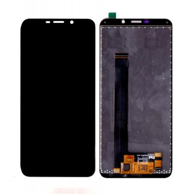 Lcd With Touch Screen For Mobiistar C1 Shine Black By - Maxbhi Com