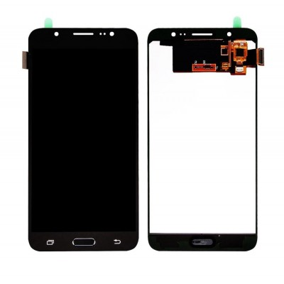 Lcd With Touch Screen For Samsung Galaxy J7 2016 Black By - Maxbhi Com