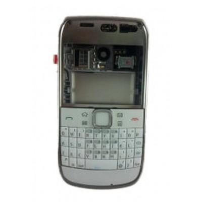 Full Body Housing For Nokia E6 E600 Silver - Maxbhi Com