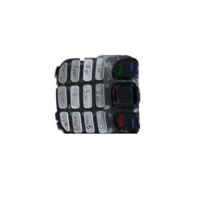 Keypad For Nokia 6303i Classic Silver - Maxbhi Com