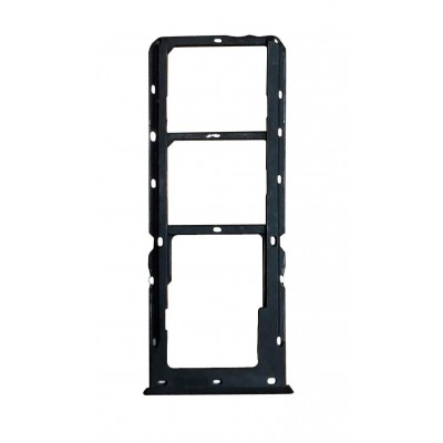 Sim Card Holder Tray For Oppo A3s Black - Maxbhi Com